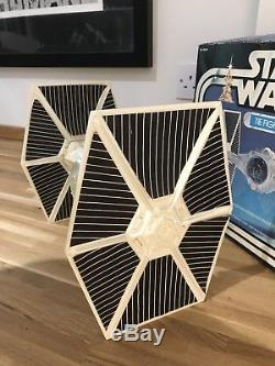 Vintage Star Wars White Tie Fighter Kenner Boxed Complete 1978