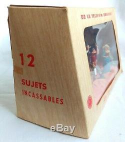 Vintage Starlux, 1950/60's. Boxed Thierry La Fronde. 54mm scale plastic