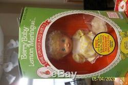 Vintage Strawberry Shortcake Berry Babies 1984 New Sealed Box QTY 12 RARE ITEM
