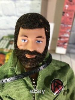 Vintage Talking G. I. Joe Adventure Team Commander in Box Hasbro 1970