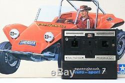 Vintage Tamiya 58024 Sand Rover 1/10 Buggy C/W Original Box & Electronics 1981