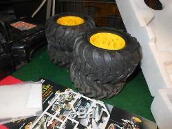 Vintage Tamiya Ford 150 Blackfoot 110 RC Package Lot w'Orig. Box Fatuba wheels