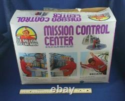 Vintage Toy Kenner UNUSED 1976 MISSION CONTROL BOX Six 6 Million Dollar Man
