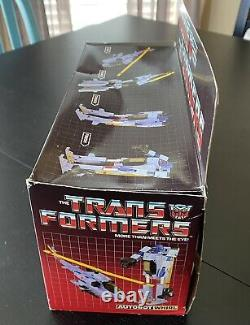 Vintage Transformers G1 Whirl in box, with weapons, Instr. & Spec. 1985 Hasbro