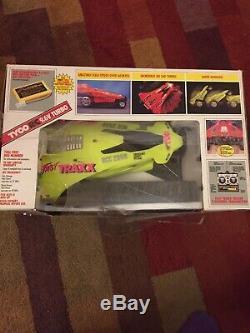 Vintage Tyco Fast Traxx NCC 2608 Neon Green 9.6 Turbo RC Car Remote Orig Box