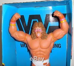 Vintage WWF 1991 ULTIMATE WARRIOR 14 No. 206 SUPERSTAR BANK Figure withBOX RARE