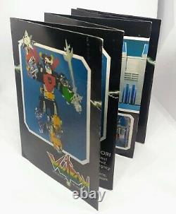 Voltron Panosh Place BLACK LION Vintage 1984 Sword Shield, Booklet, complete Box
