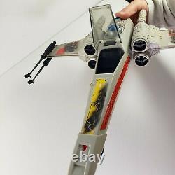 Vtg 1978 Star Wars X WING FIGHTER Battle Damaged ROTJ with Original Box Kenner
