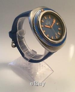 Zenith Sub Sea, A3637, 1000 mt, year 1970 vintage, with box